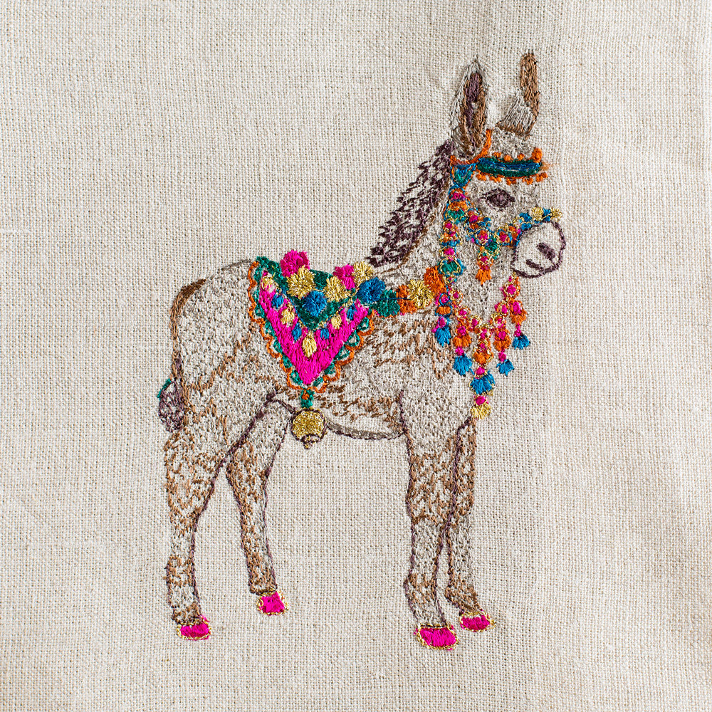 frances the donkey tea towel-kitchen & dining - tea towels & aprons-coral & tusk-k colette