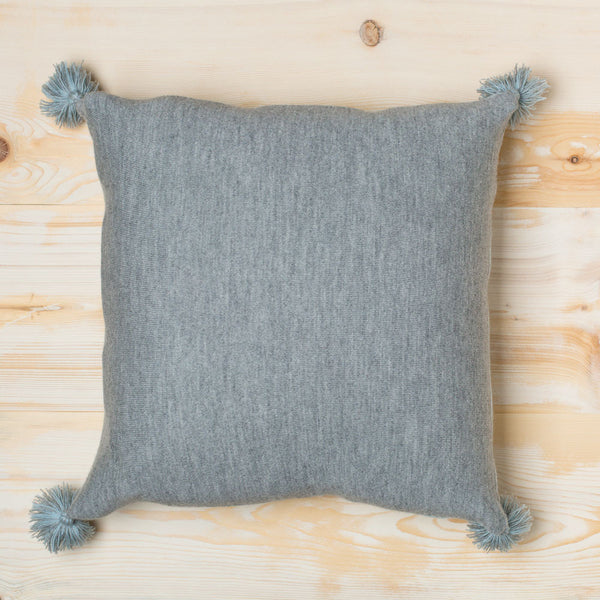 alpaca pom pom pillow-textiles - pillows-alicia adams alpaca-light blue-k colette