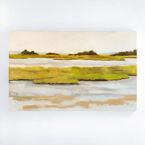 mud flats no. 1 oil painting-art & decor - paintings & prints-jill matthews-k colette