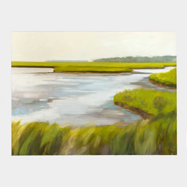 biddeford pool, late spring oil painting-art & decor - paintings & prints - love - maine - sea-jill matthews-k colette