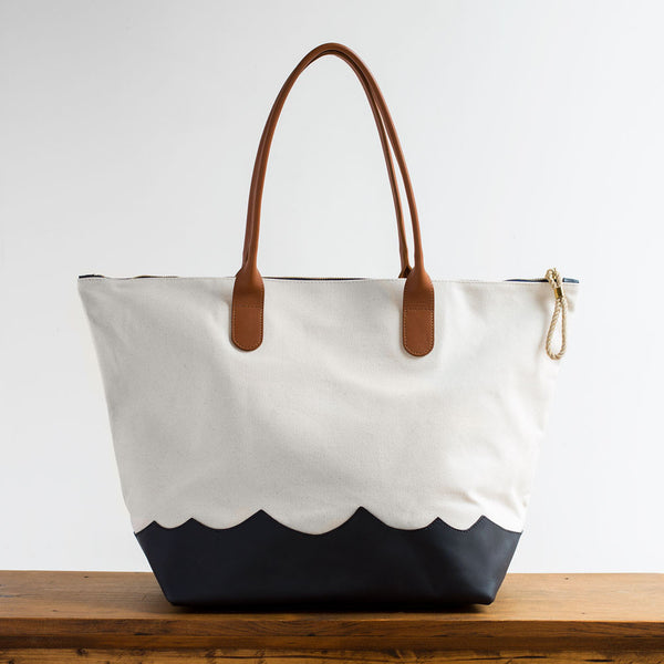 wave weekender bag, natural-accessories - handbags & clutches - maine - sea-eklund griffin-k colette