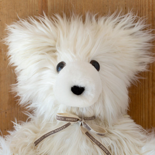 emilio the bear-baby - toys-alicia adams alpaca-ivory-k colette
