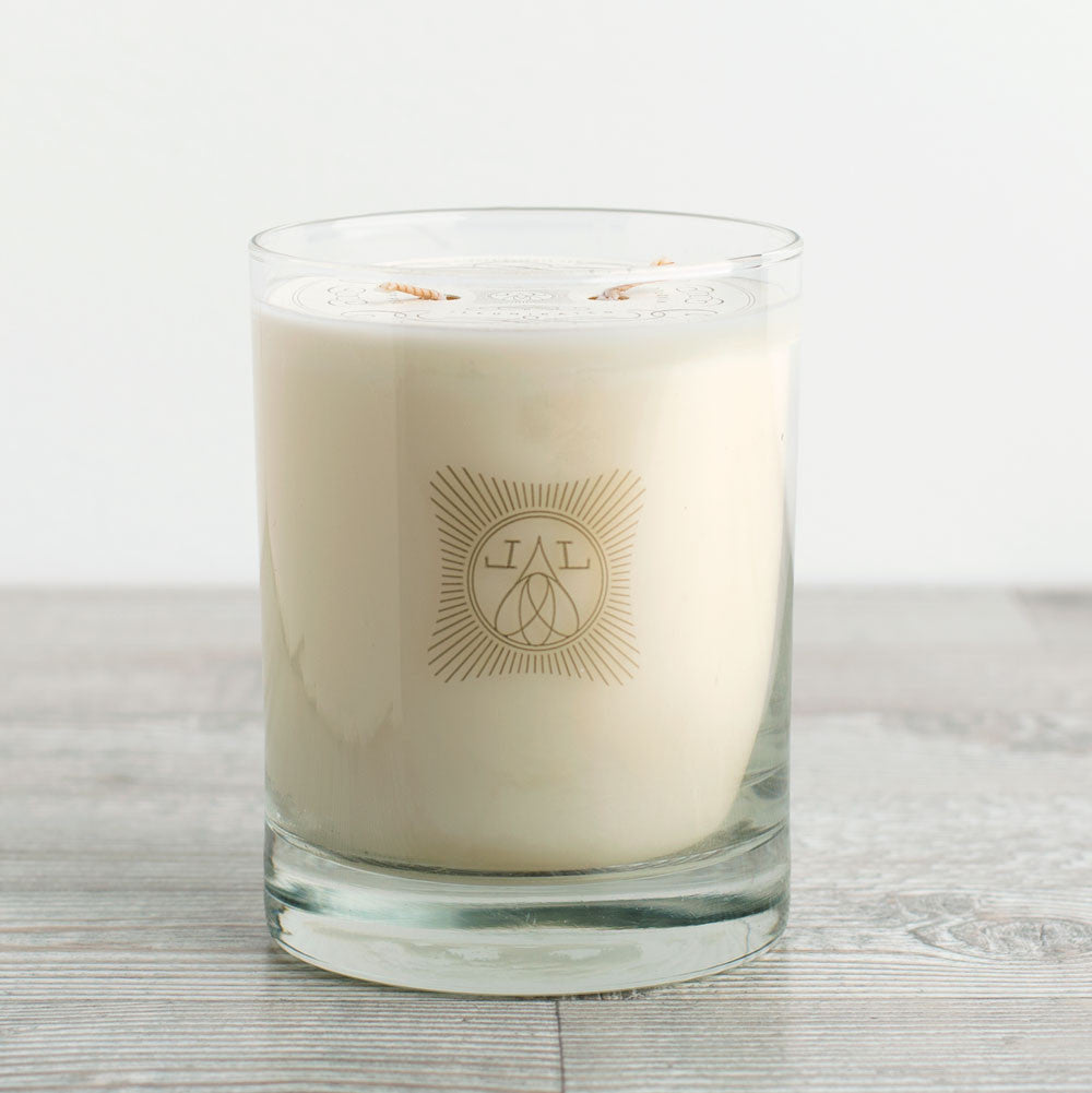 orange blossom candle-apothecary - candles-linnea's lights-k colette