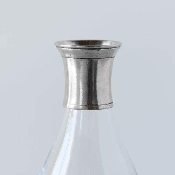 tall carafe with pewter collar-kitchen & dining - serveware-match-Default-k colette