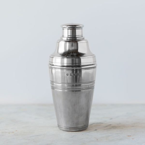 pewter cocktail shaker-kitchen & dining - bar & drinkware-match-k colette