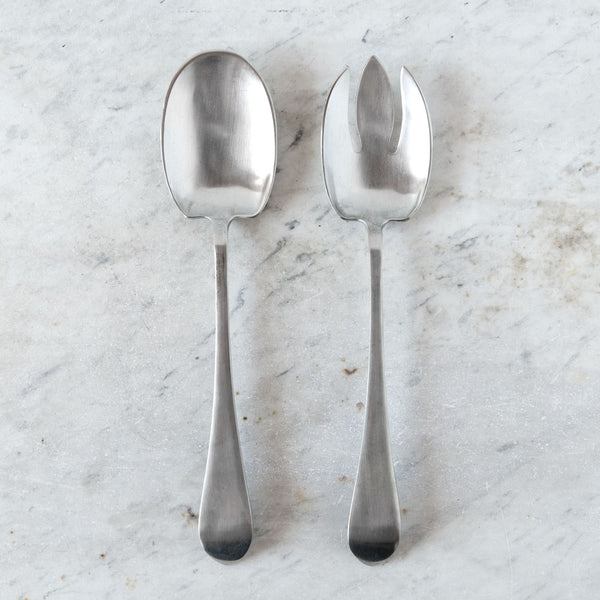 aria pewter salad set-kitchen & dining - serveware - love - thank-match-k colette