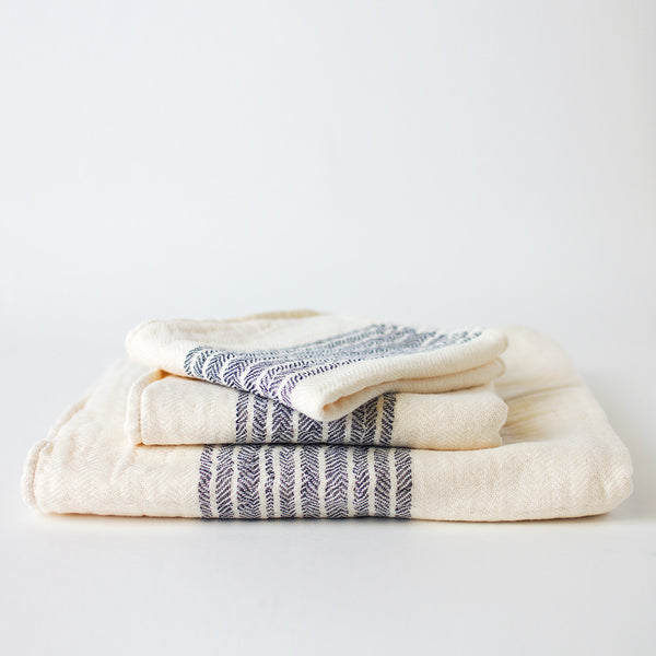 organic cotton flax towels-bed & bath - bath towels-kontex by morihata-k colette