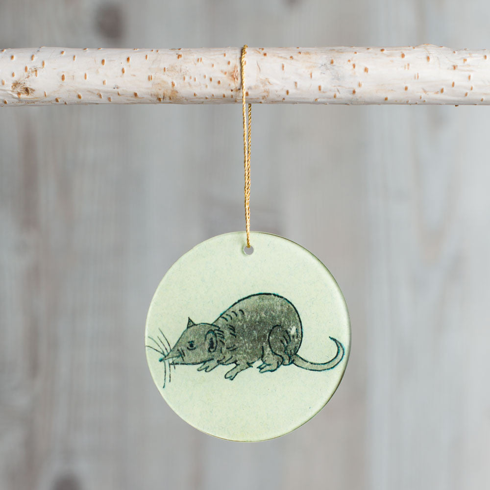 mouse ornament-holiday - ornaments-john derian-k colette