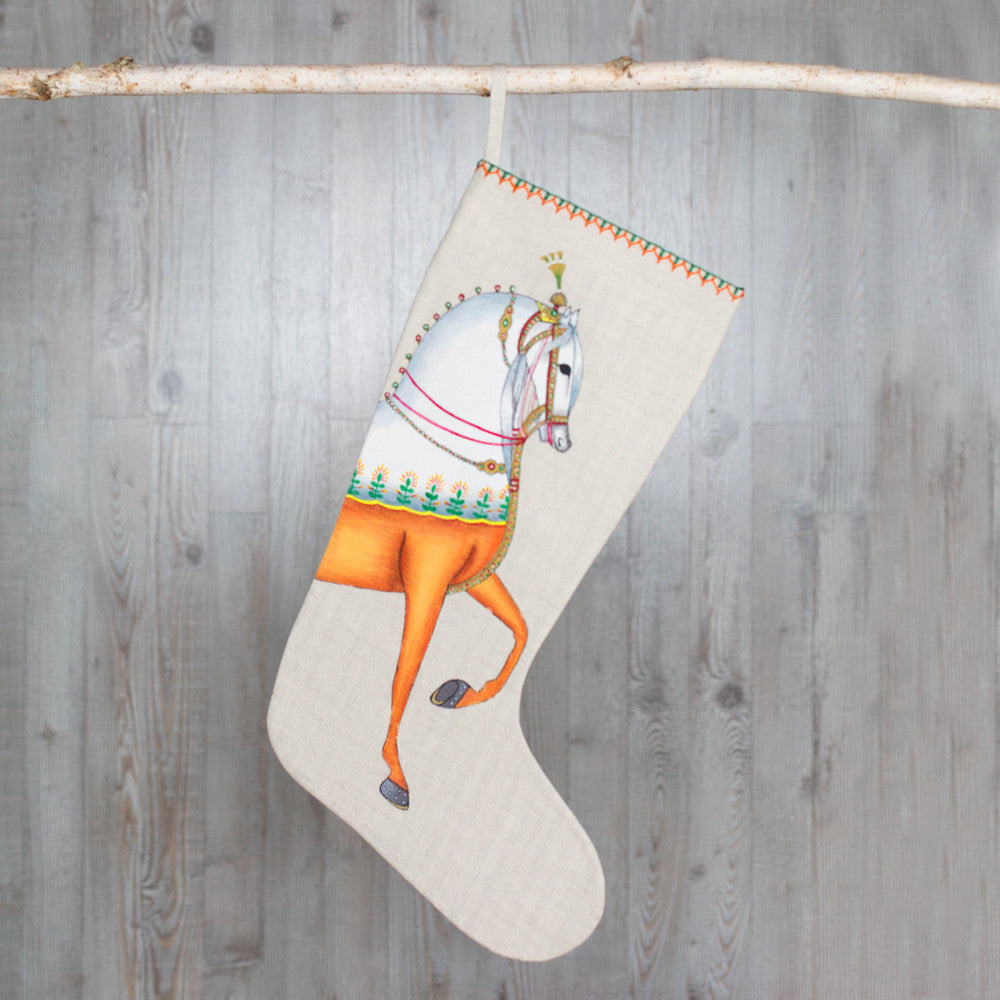 hand-painted horse stocking-holiday - decor-john robshaw-Default-k colette