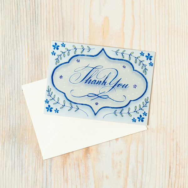many thanks lantern boxed stationery set-desktop - paper goods-felix doolittle-Default Title-k colette