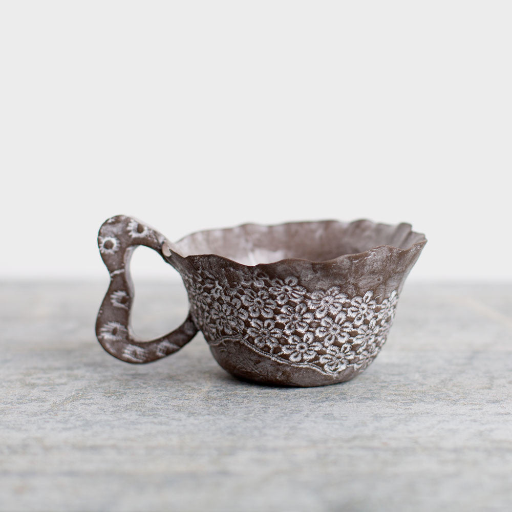 lace tea cup-kitchen & dining - bar & drinkware-valérie casado-k colette