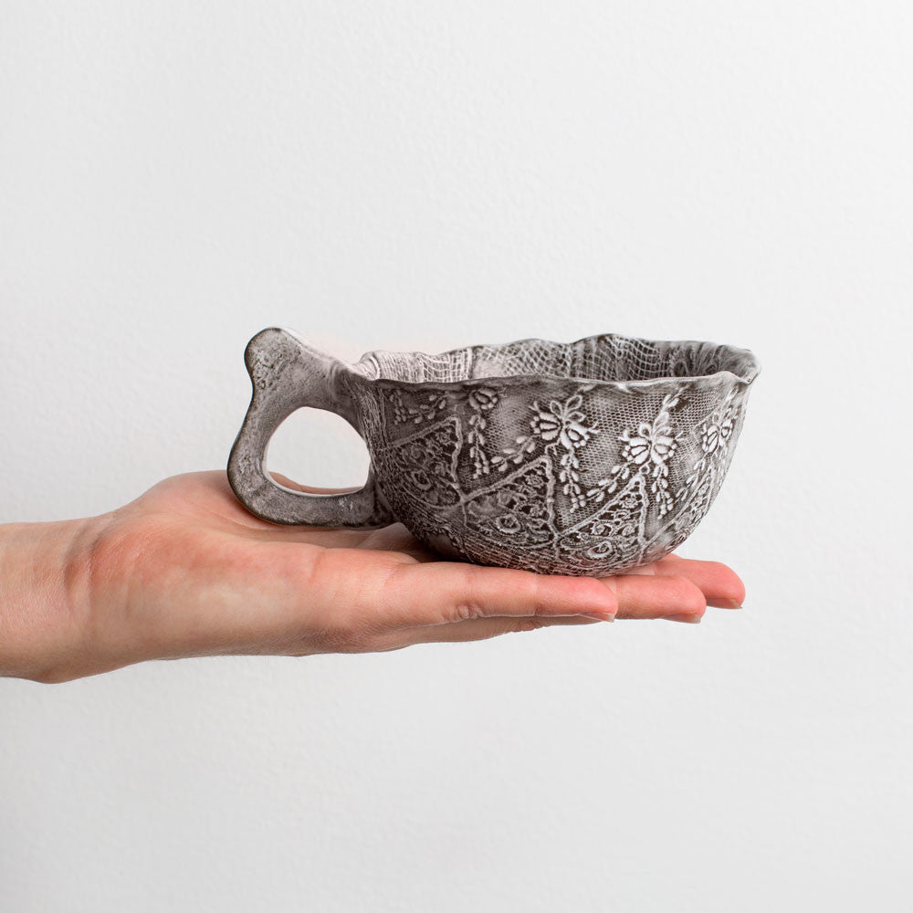 lace chocolate cup-kitchen & dining - bar & drinkware-valérie casado-k colette