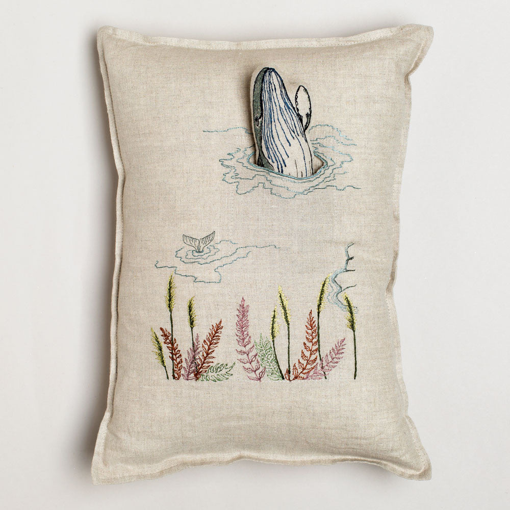 humpback whale pocket pillow-textiles - pillows-coral & tusk-Default Title-k colette