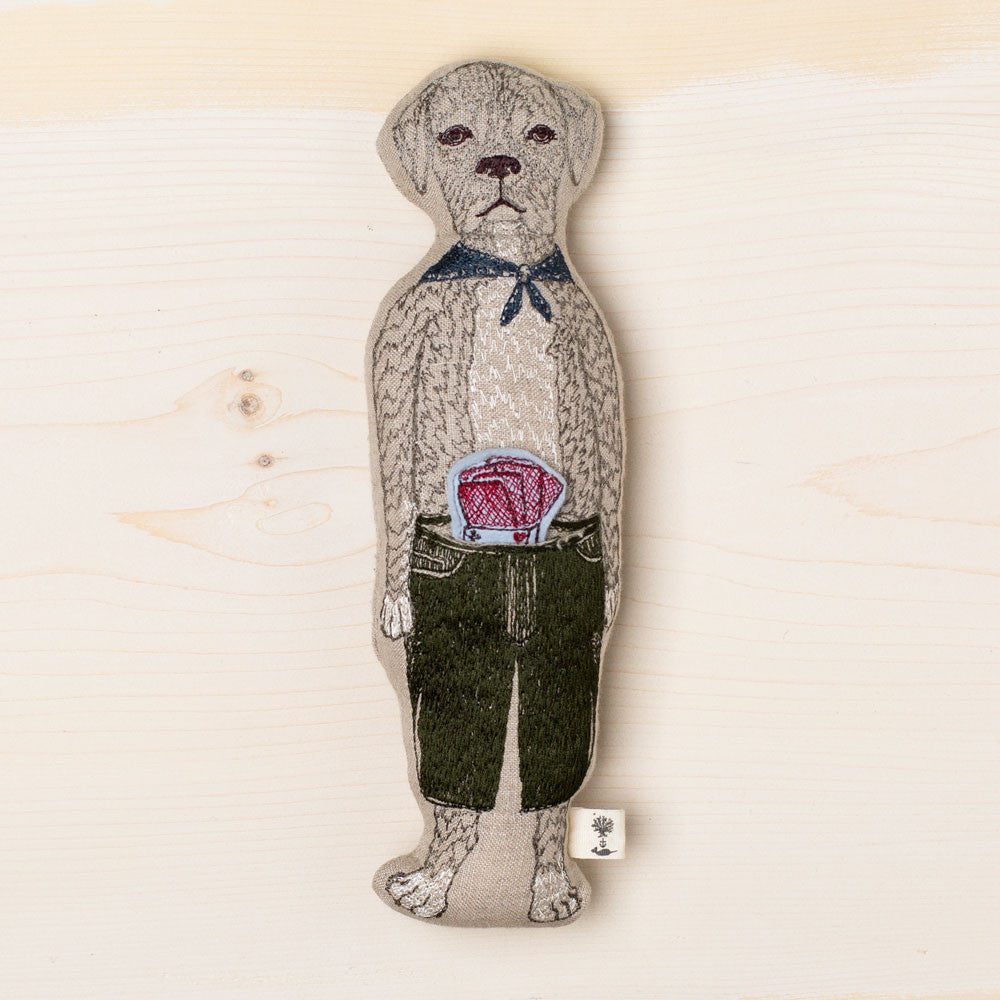paco with deck of cards pocket doll-baby - toys-coral & tusk-k colette