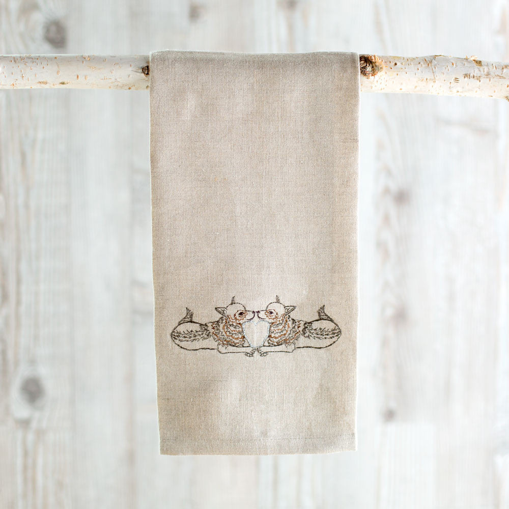 coyote love tea towel-kitchen & dining - tea towels & aprons-coral & tusk-k colette