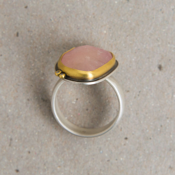 pale pink sapphire & diamond ring-accessories - jewelry-ananda khalsa-Default-k colette