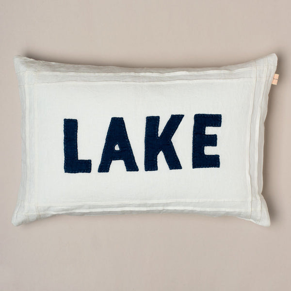 white lake linen pillow-bed & bath - decor - pillows-taylor linens-k colette