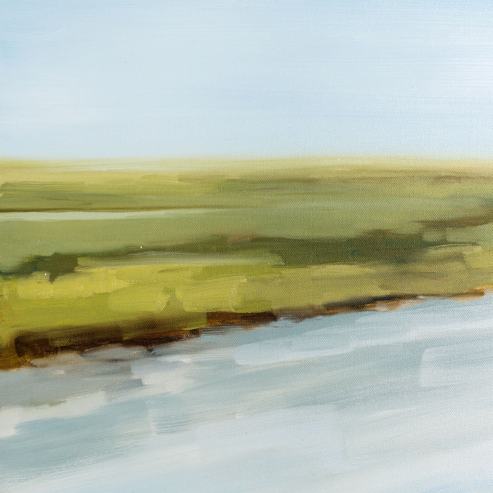 misted inlet no. 2 oil painting-art & decor - paintings & prints - luxury-jill matthews-k colette