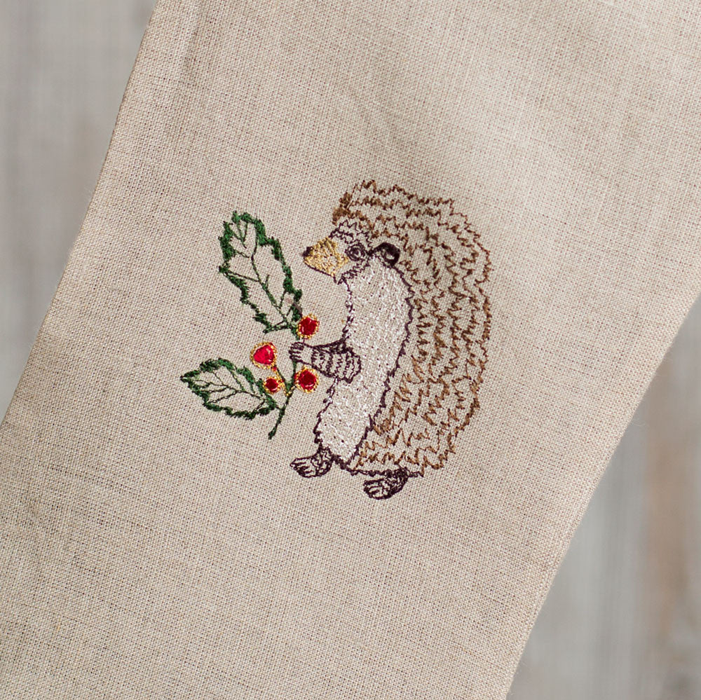 small holly hedgehog stocking-holiday - decor-coral & tusk-Default-k colette