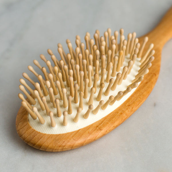 wooden hair brush-bed & bath - bath accessories-redecker-k colette