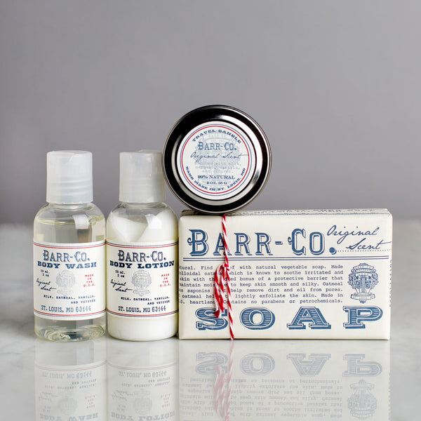 original travel kit-apothecary - soaps & lotions - stocking-barr-co. by k hall designs-k colette