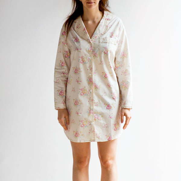 clovelly nightshirt-textiles - pajamas-taylor linens-small-k colette