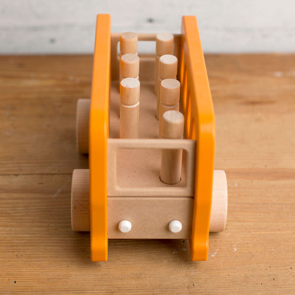 bus wooden push toy play set-baby - toys-manny & simon-k colette