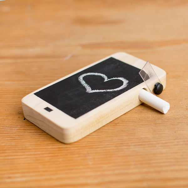 wooden chalkboard cellphone-final stock-little miss workbench-k colette