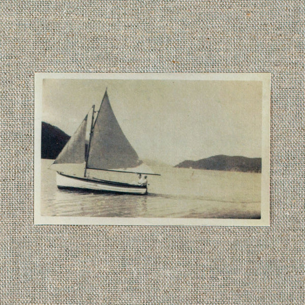 linen sailing journal-desktop - journals - ooak-dski design-k colette