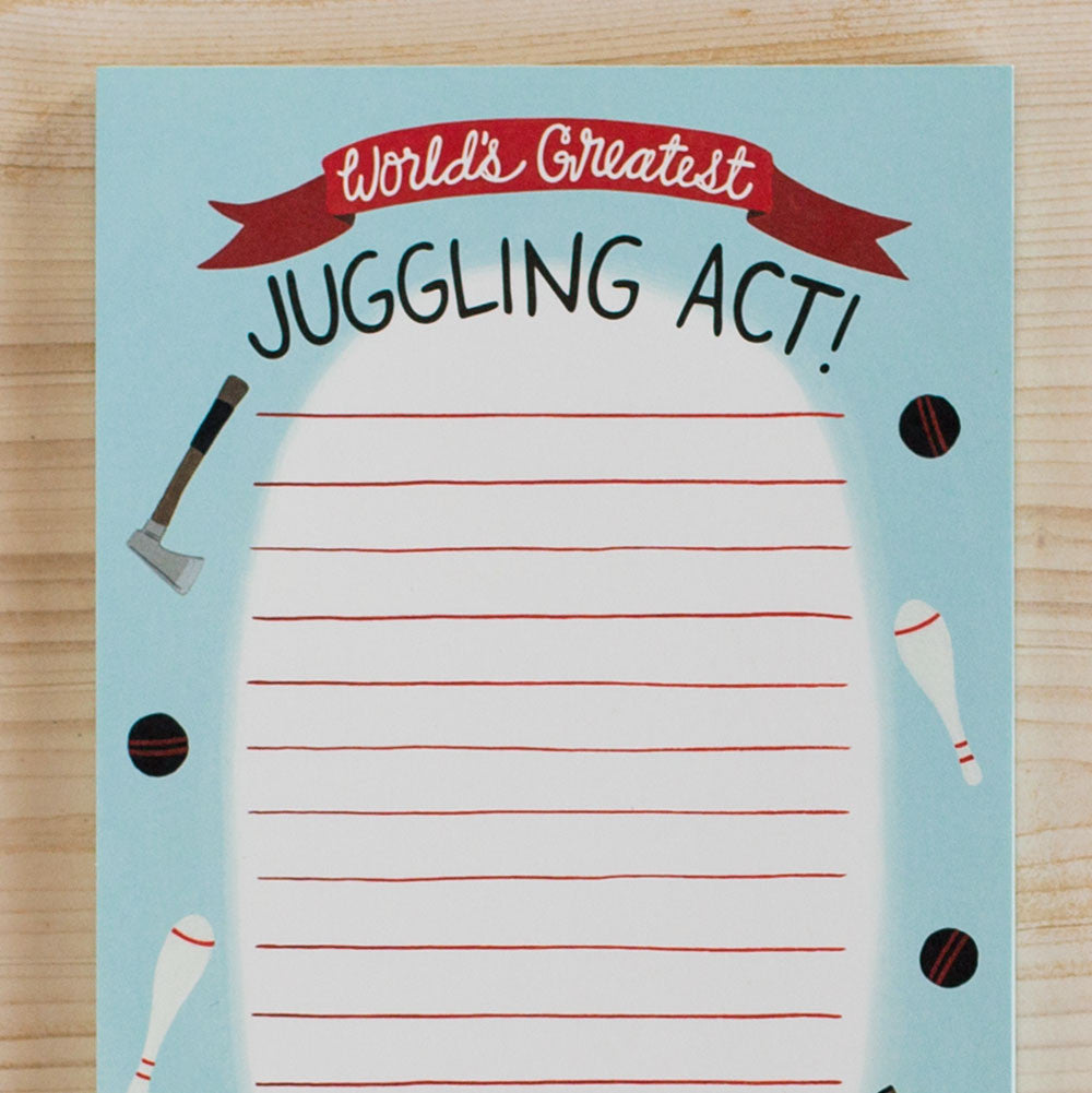 juggling act notepad-desktop - paper goods-yeppie paper-k colette