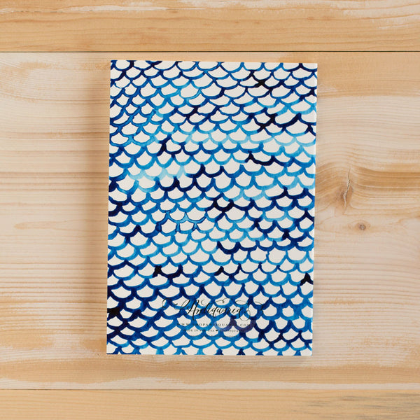 indigo fish scales notebook-desktop - journals-antiquaria-Default-k colette