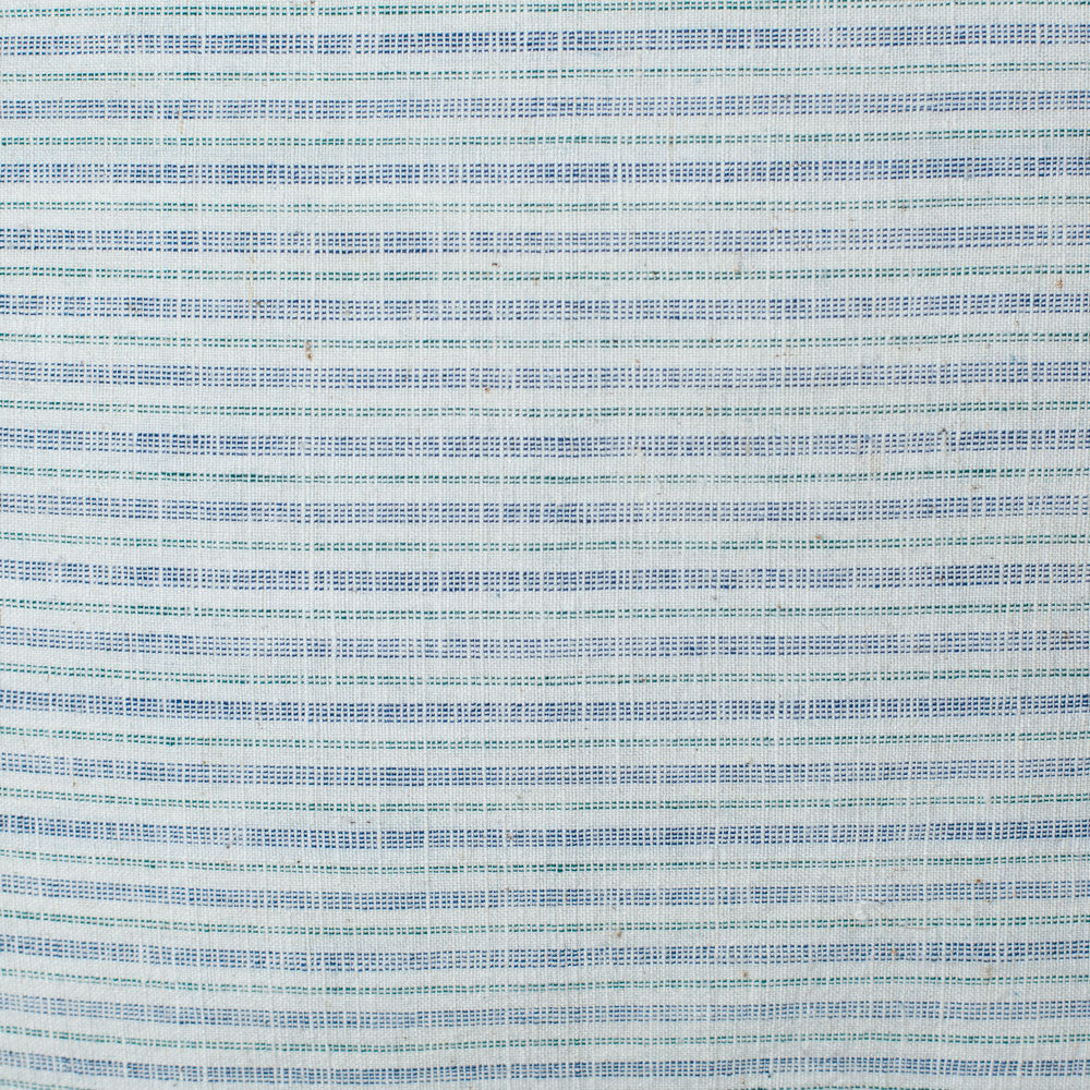 homespun linen pillow, blue-bed & bath - decor - pillows - vintage textiles-luru home-k colette