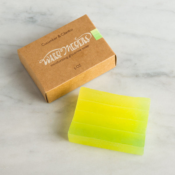 cucumber & cilantro bar soap-apothecary - soaps & lotions - maine - stocking-wary meyers-k colette