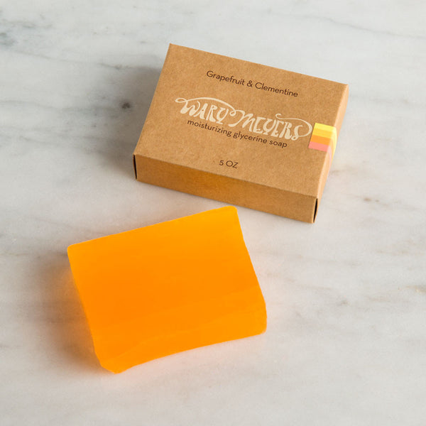 grapefruit & clementine bar soap-apothecary - soaps & lotions-wary meyers-Default-k colette