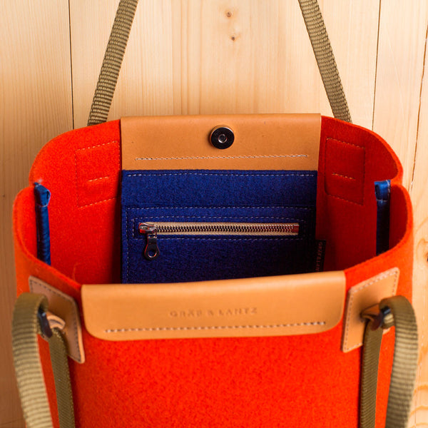 sunset tote, orange-accessories - handbags & clutches-graf & lantz-Default-k colette