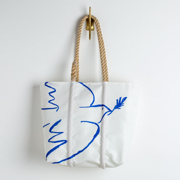 peace dove sea bags tote-accessories - handbags & clutches - maine-sea bags-k colette