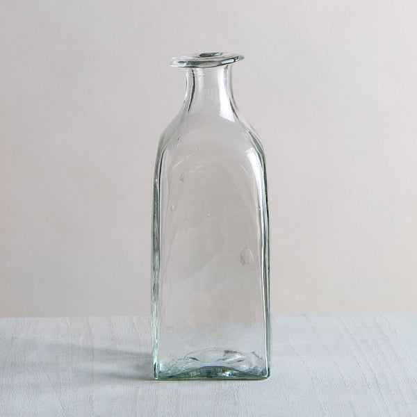 blown glass bagno rectagulaire bottle-art & decor - vases-la soufflerie-k colette