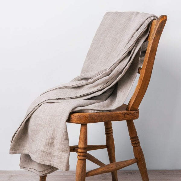 linen blanket-textiles - throws-always piper-k colette