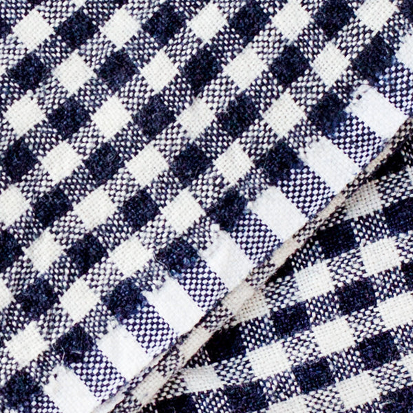 classic gingham napkins-kitchen & dining - table linens-couleur nature-red-k colette