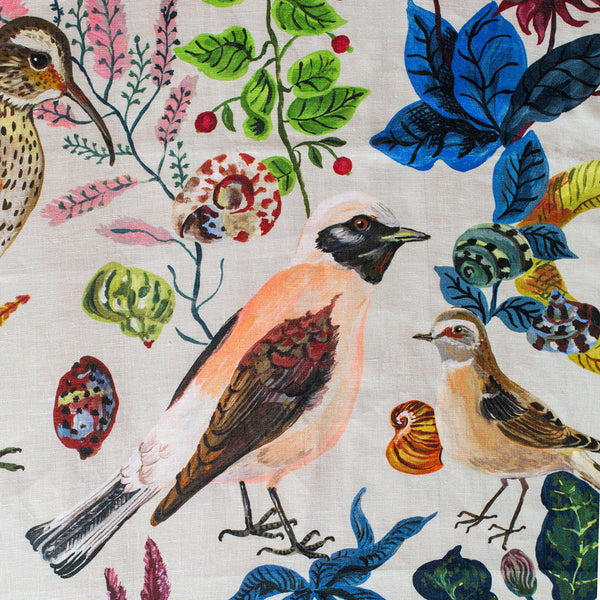 "birds in the dunes tablecloth-kitchen & dining - table linens-avenida home-79"" x 59""-k colette"