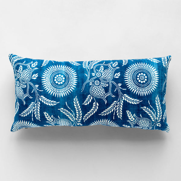 vintage dot branches lumbar pillow-textiles - pillows - vintage textiles-luru home-Default-k colette