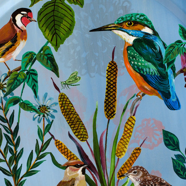 birds in the dunes kingfisher tray-kitchen & dining - serveware - gathering-avenida home-k colette