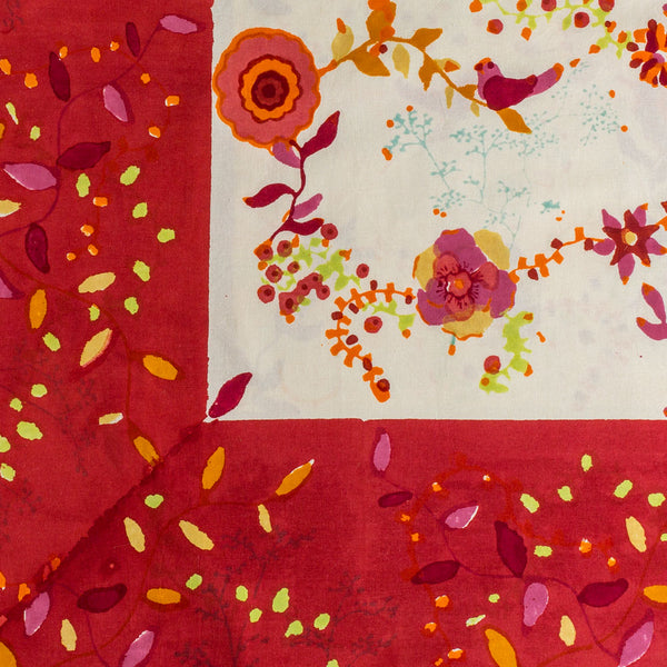 red treetop tablecloth-kitchen & dining - table linens-couleur nature-k colette
