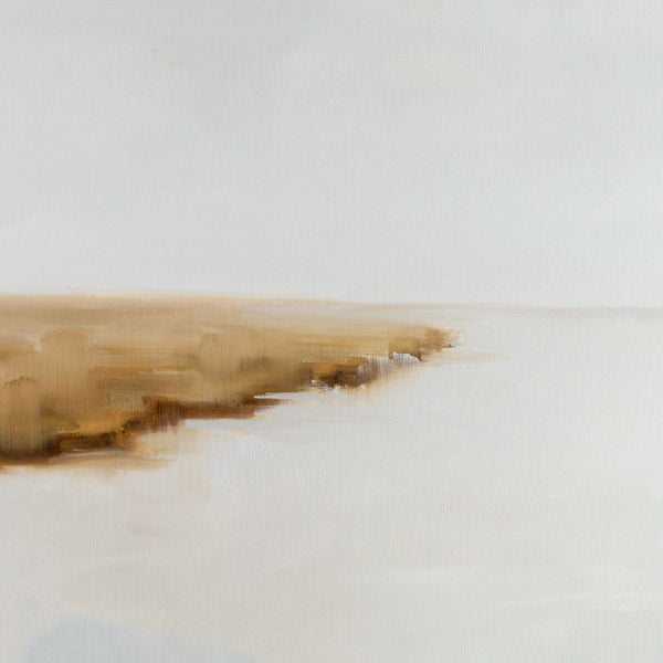 'grey misted marsh' oil painting-art & decor - paintings & prints-jill matthews-k colette