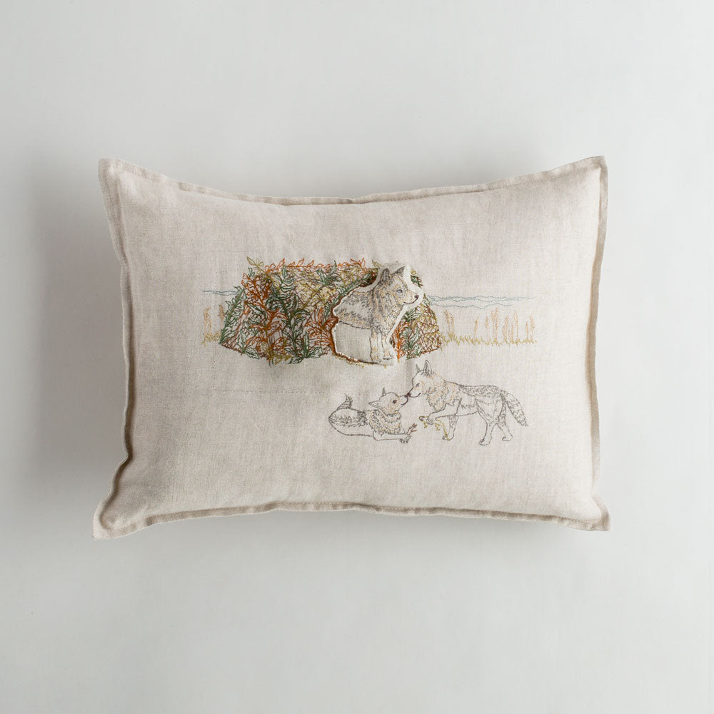 sea cliff coyote pocket pillow-bed & bath - art & decor - pillows-coral & tusk-k colette