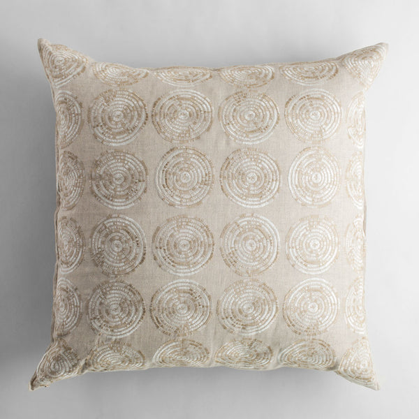 limited edition sweetgrass sand euro pillow-bed & bath - art & decor - pillows - luxury-coral & tusk-k colette