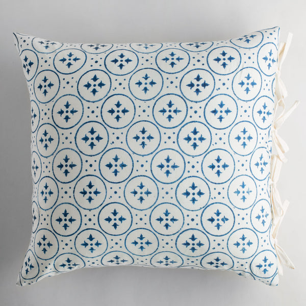 irma indigo euro pillow-bed & bath - art & decor - pillows - cozy-les indiennes-k colette