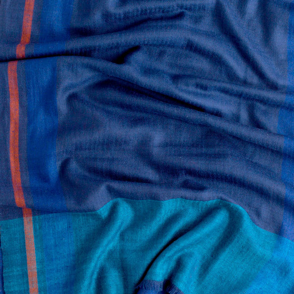 marie blue cashmere shawl-accessories - scarves - thank - give-sadhu-k colette
