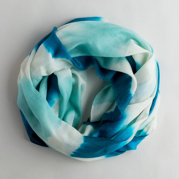 shibori cashmere scarf-accessories - scarves - give-sudarshan-k colette
