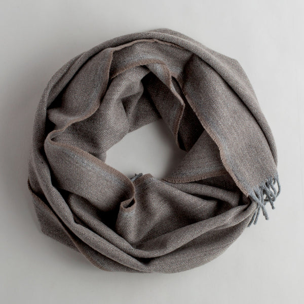 ashby twill scarf-accessories - scarves-faribault woolen mill co.-k colette